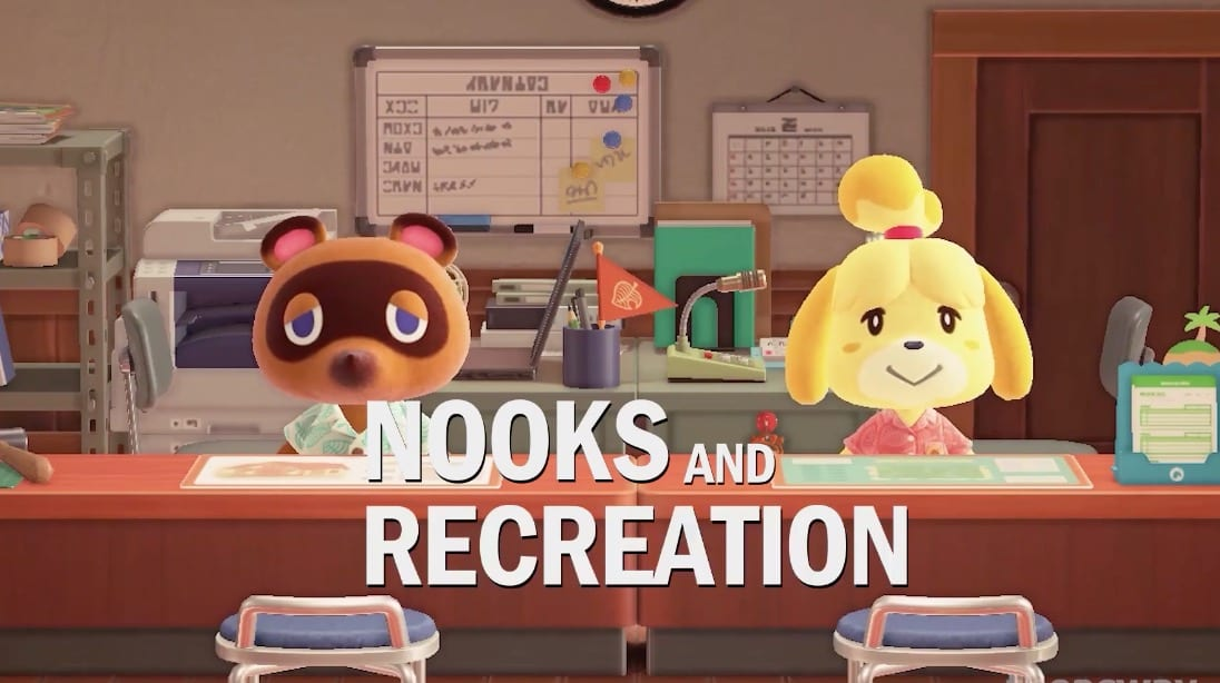 animal crossing new horizons, parks and rec