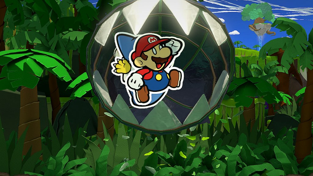 paper mario origami king download size, install size