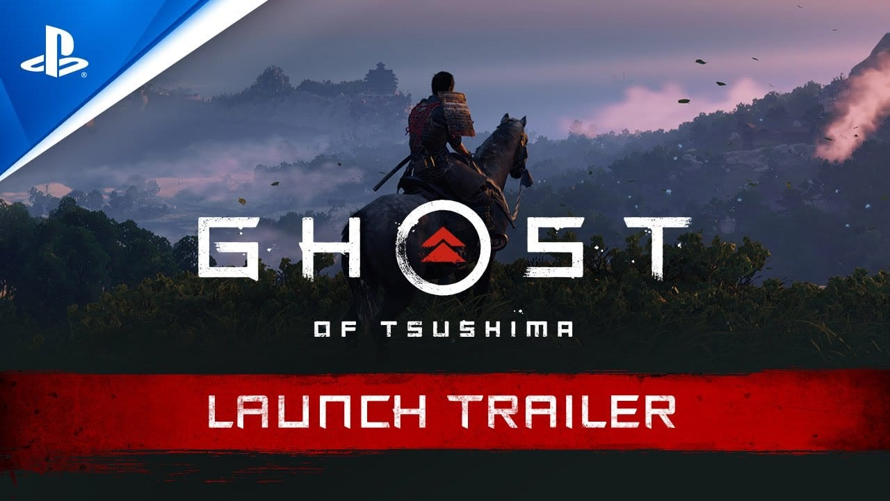 ghost of Tsushima, launch trailer