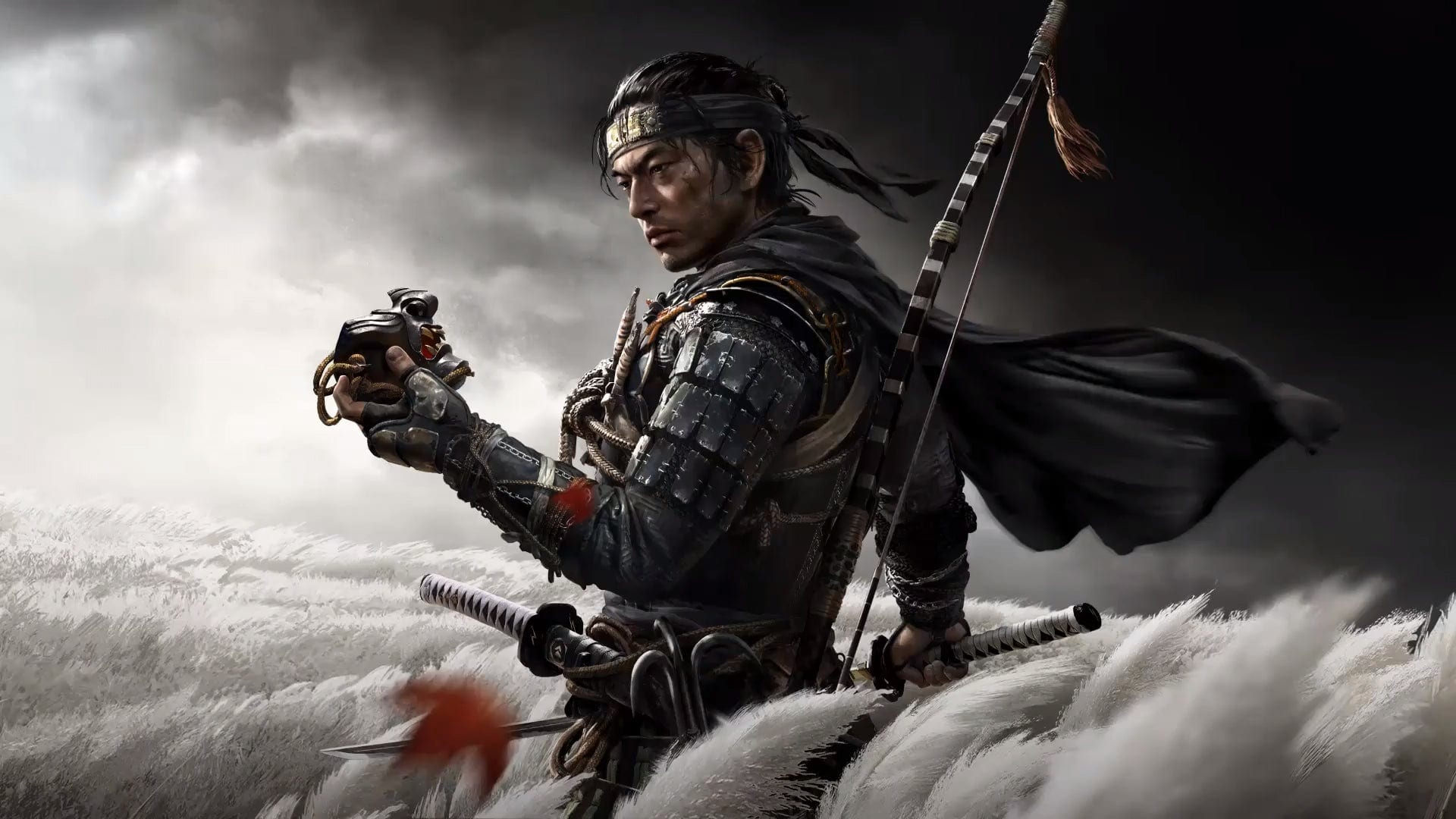 ghost of tsushima, holster weapon, sword