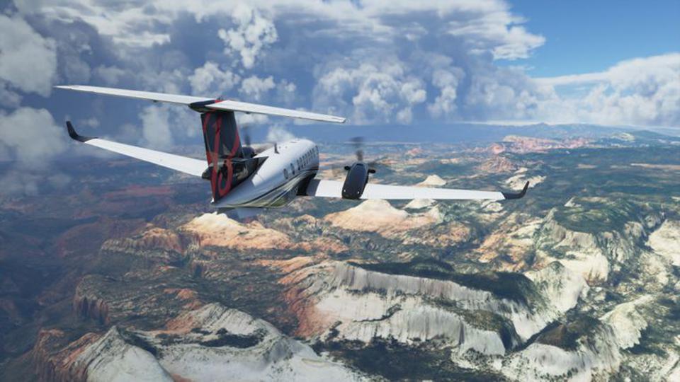 Microsoft flight simulator ps4