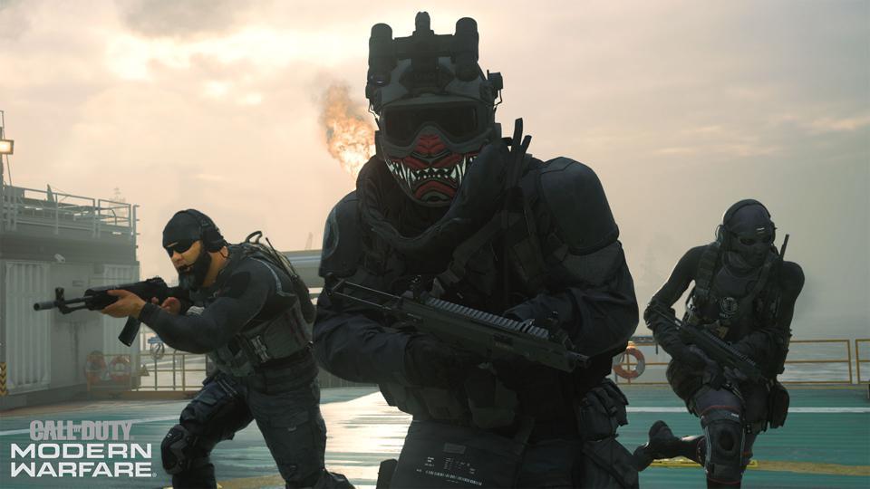 Modern warfare iso sub machine gun