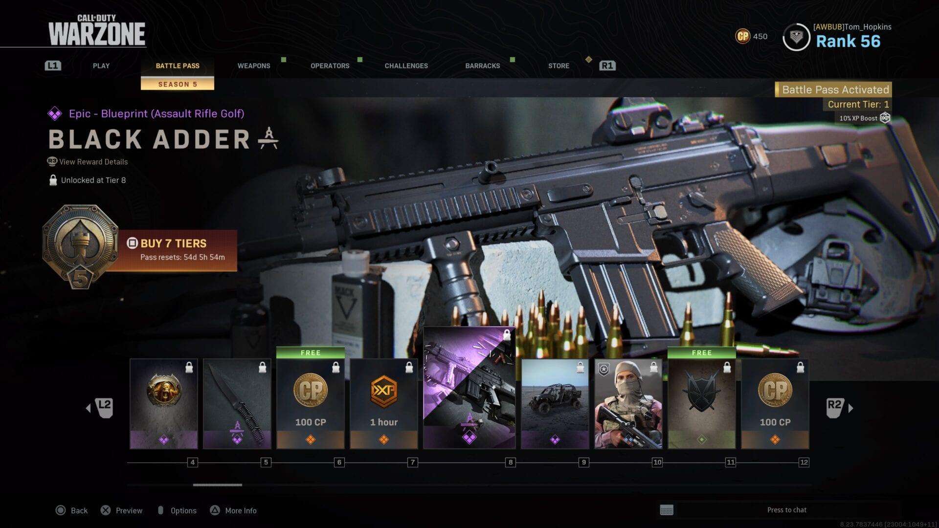 Modern Warfare How To Get Season 5 Battle Pass