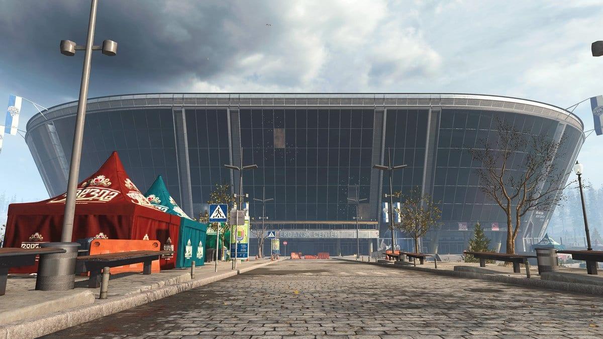 warzone, stadium doors