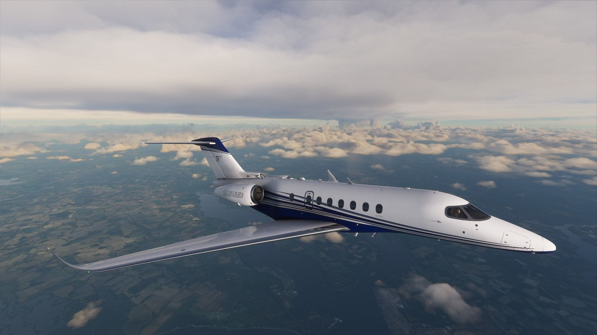 Microsoft Flight Simulator Altimeter