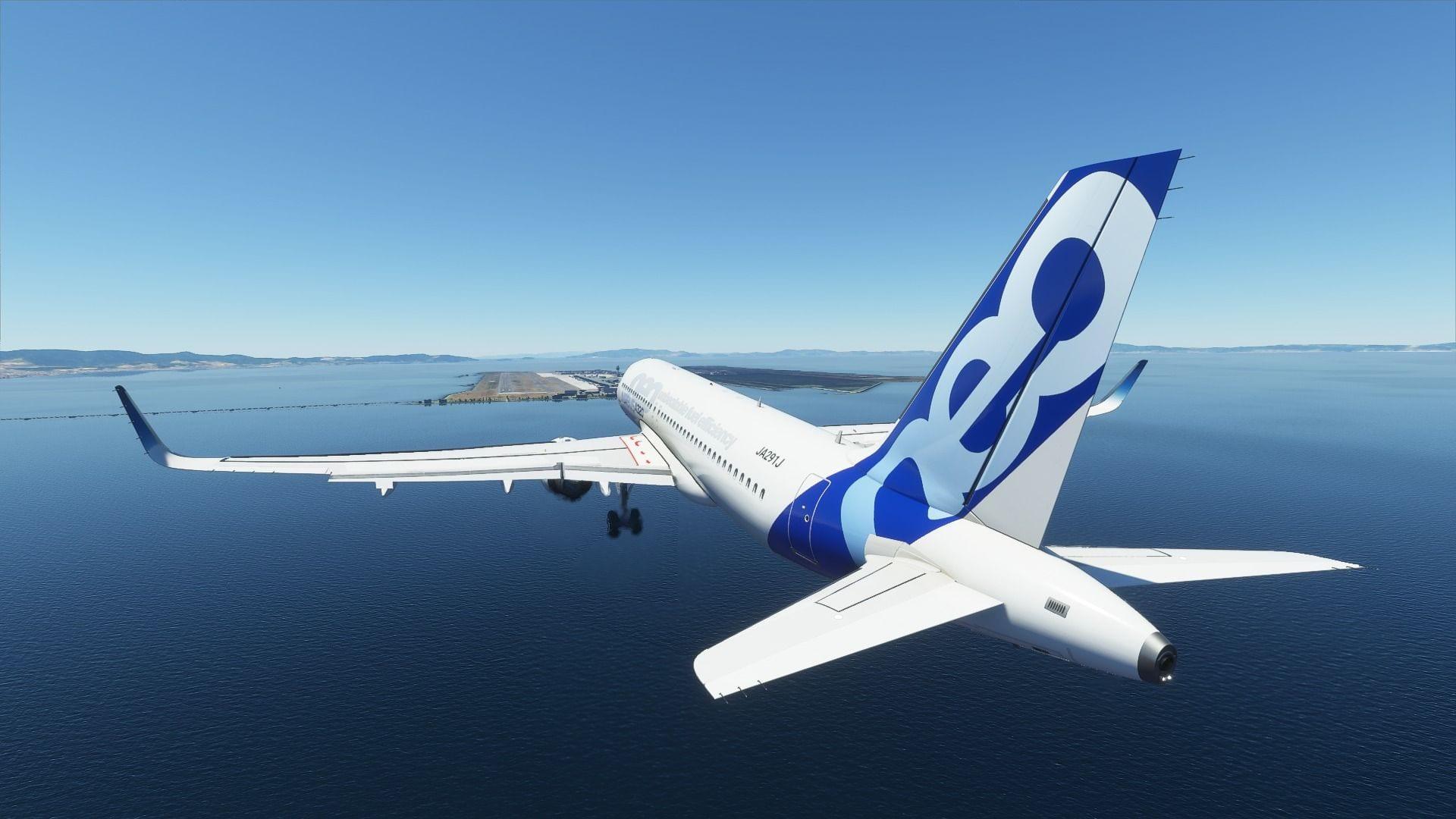 Microsoft Flight Simulator VASI PAPI Lights