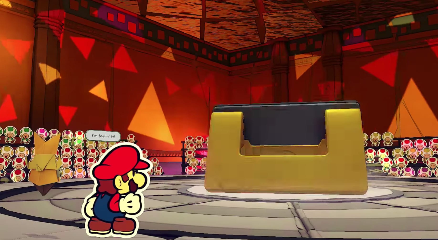 How to Beat Hole Punch Boss Battle in Paper Mario Origami King