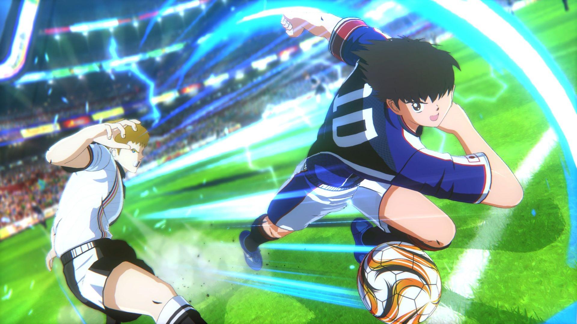 captain tsubasa dribbling moves