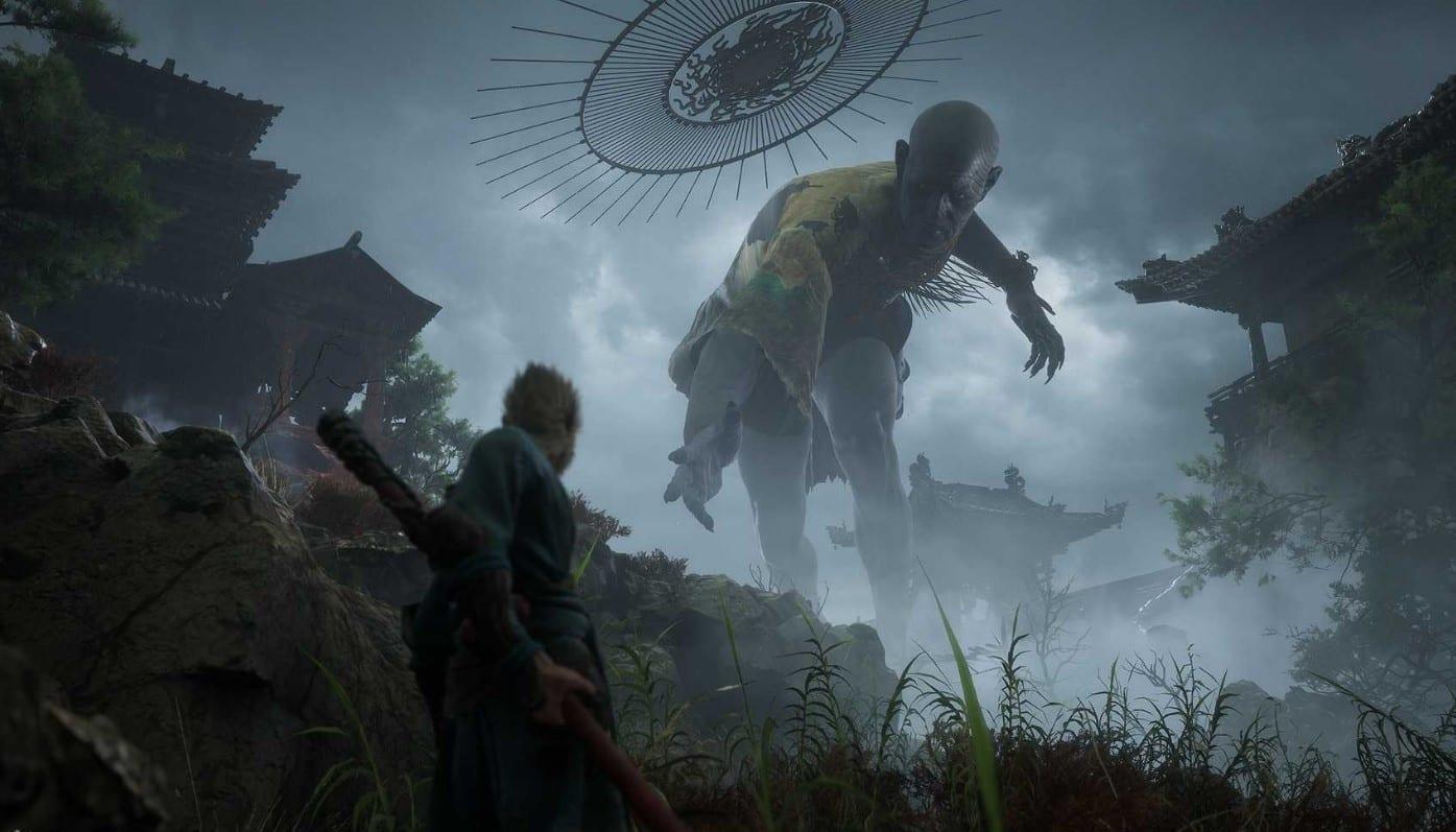 black myth, wu kong, gameplay trailer