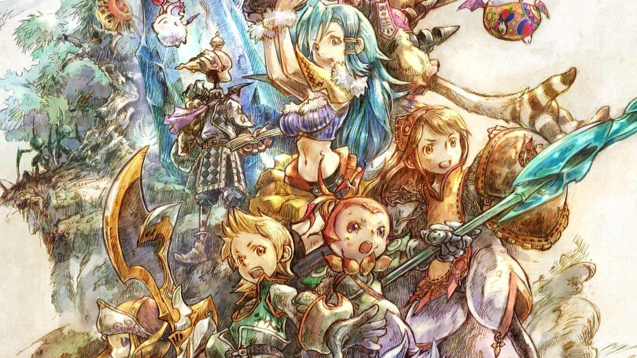 final fantasy crystal chronicles, spell fusion