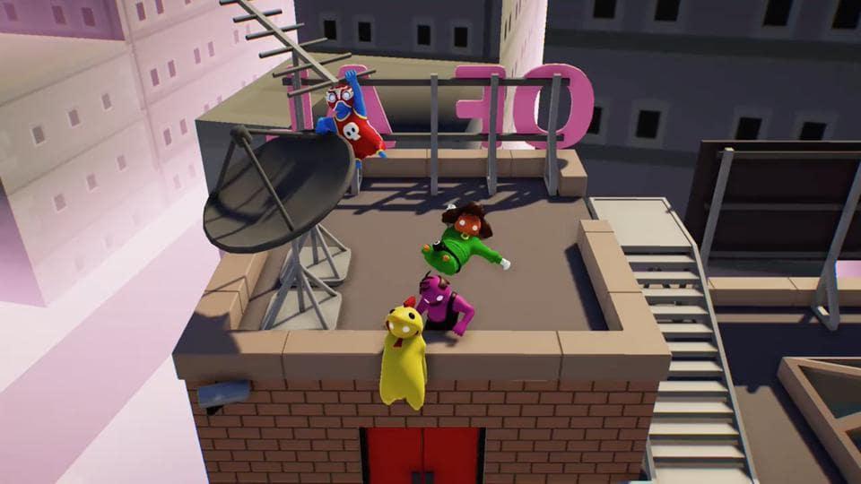 gang beasts how to climb