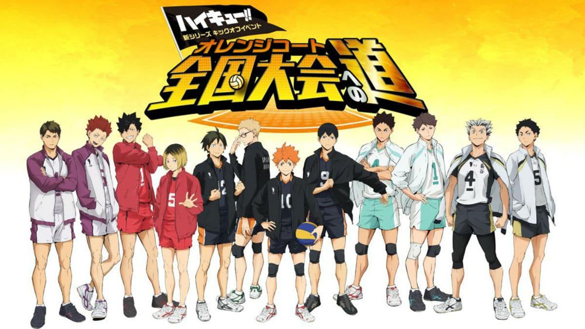 Haikyuu Team Picture