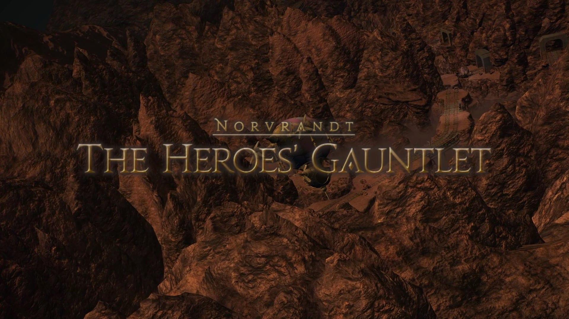 ffxiv, heroes' gauntlet