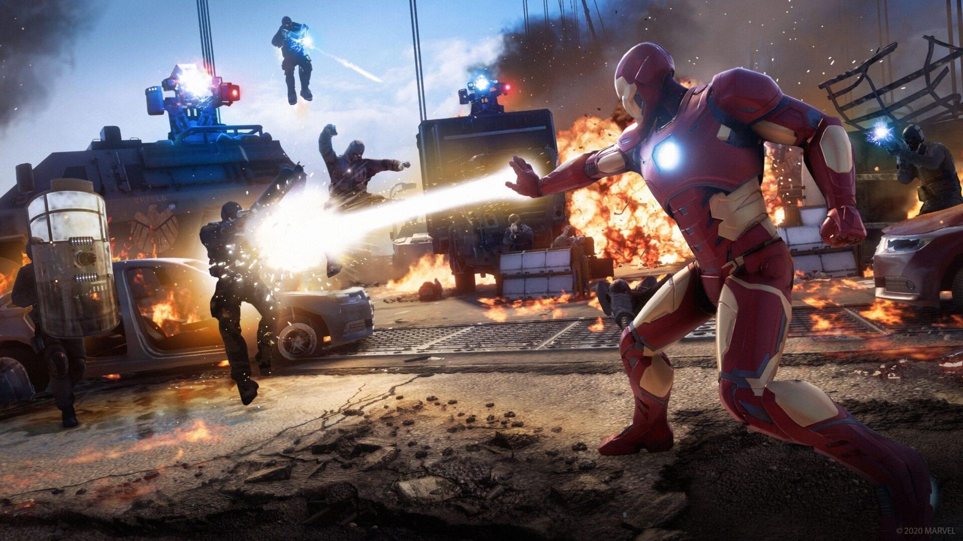 marvel's avengers, war table