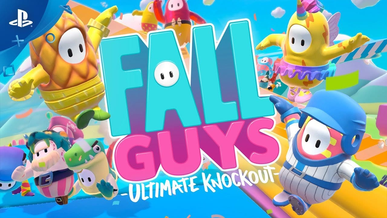fall guys, ps4, ps plus