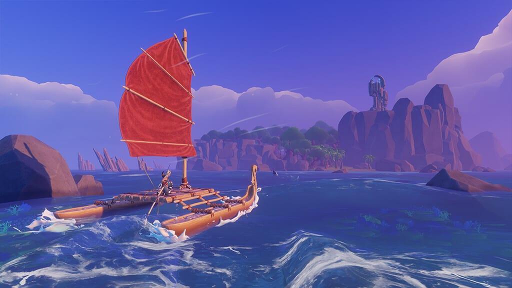 windbound, boat