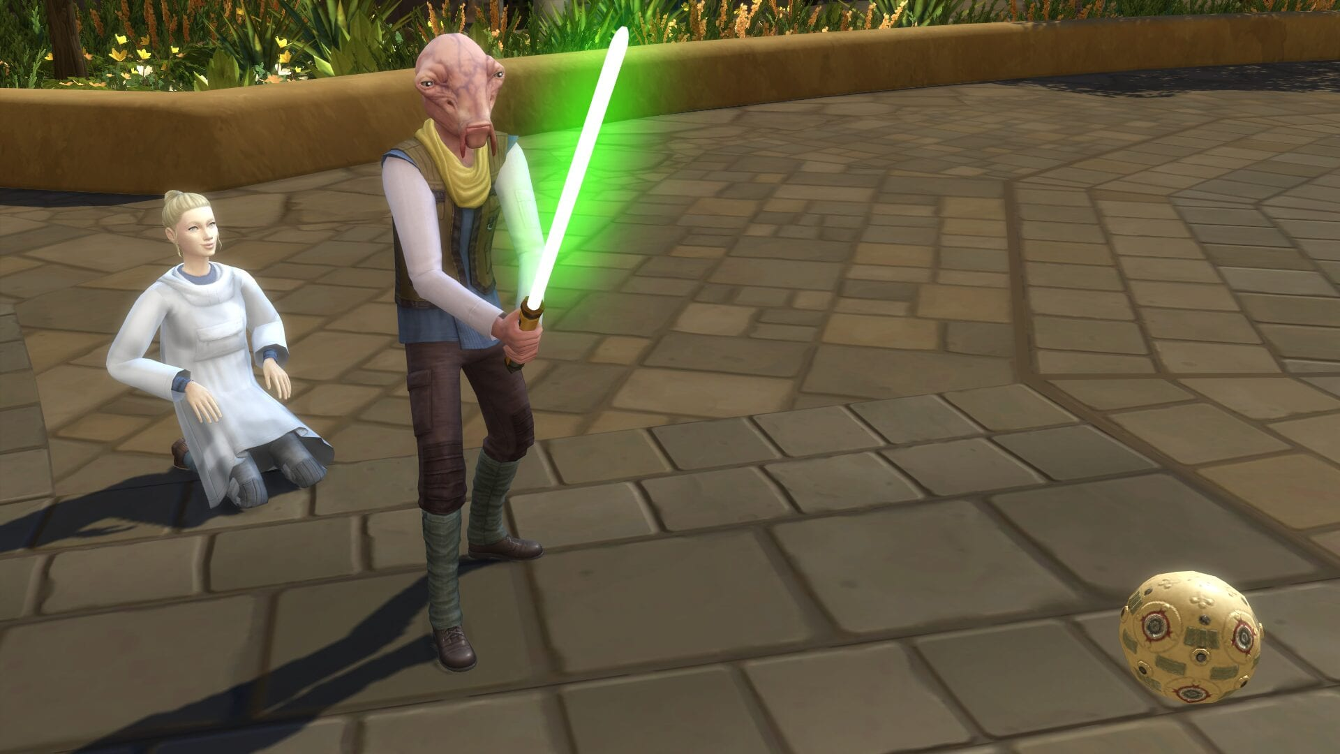 Sims How to Get a Lightsaber