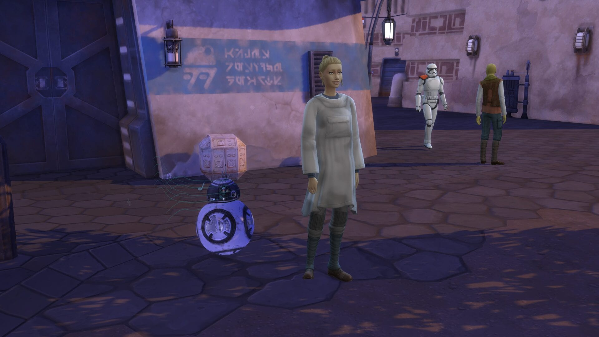 Sims How to Get a Droid
