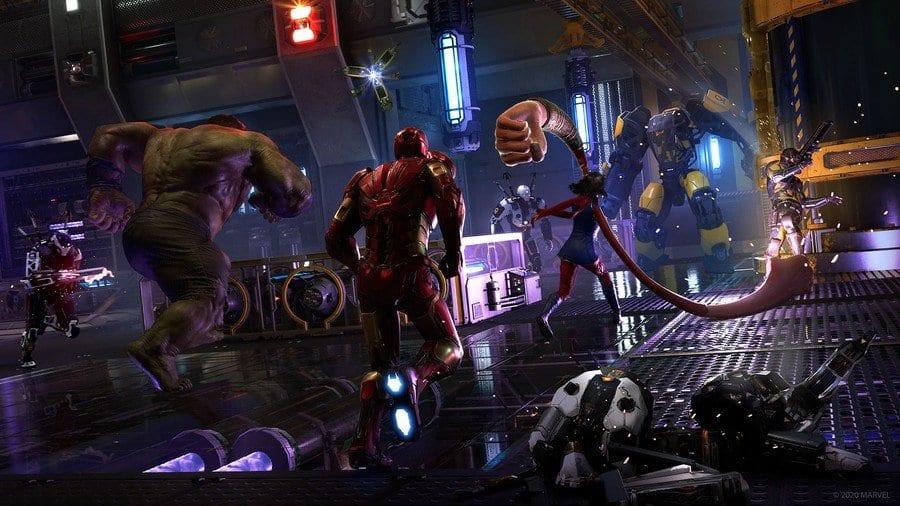Marvel's avengers pre-order DLC