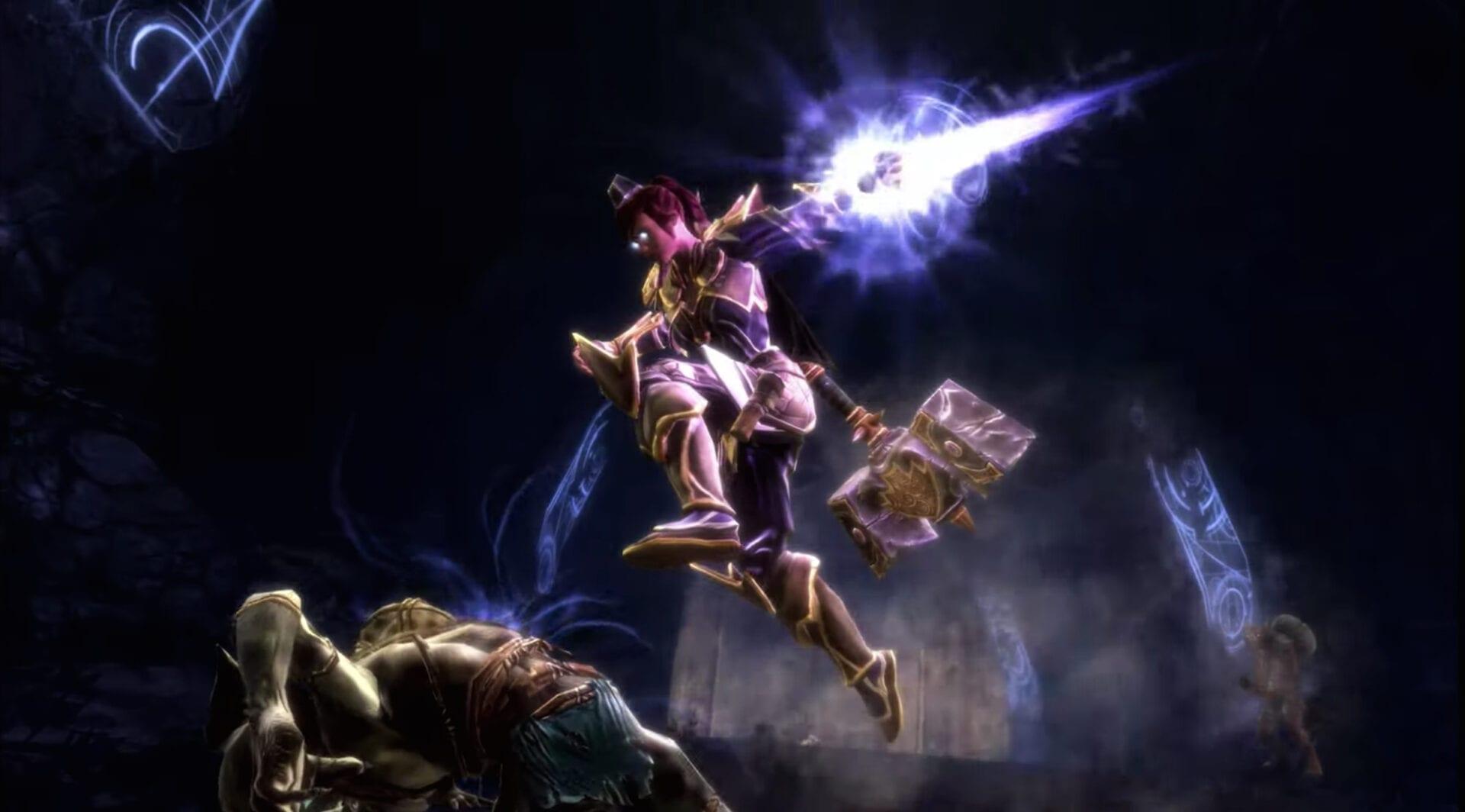 Kingdoms of amalur re-reckoning gameplay