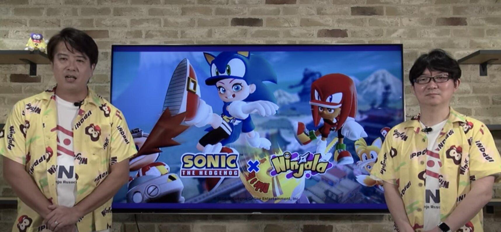 Ninjala, Sonic the Hedgehog collaboration, Dev Diary