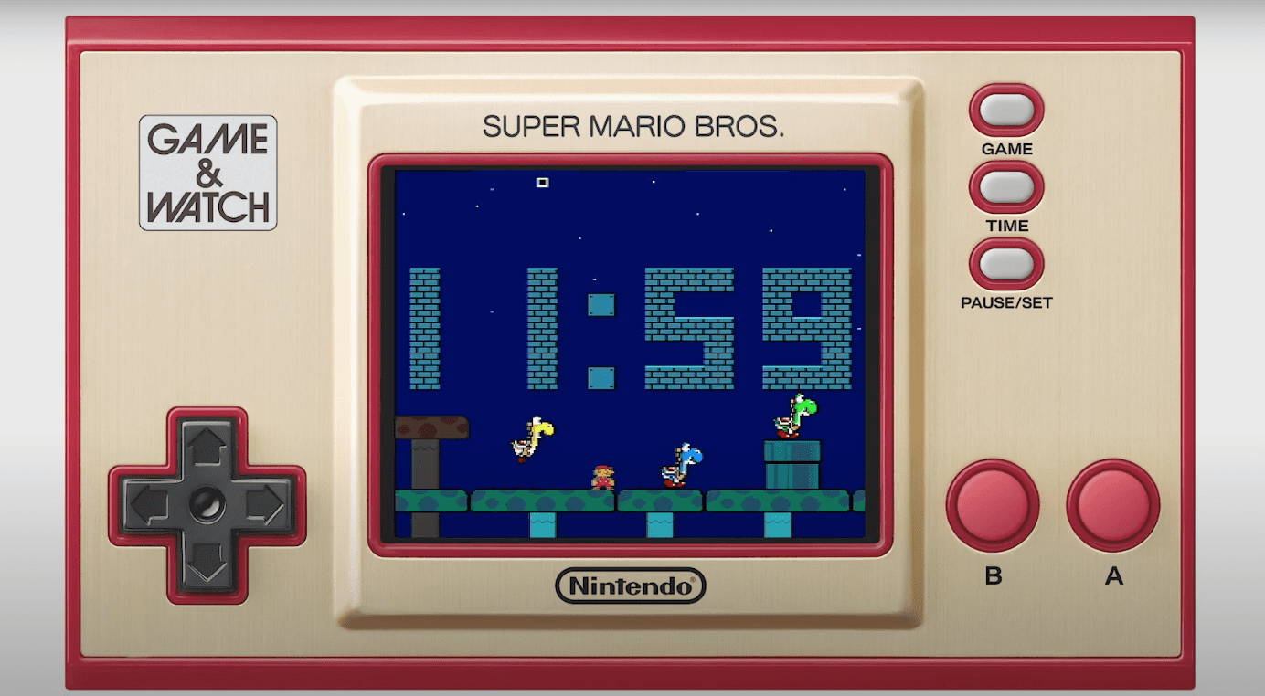 Super Mario Bros. 35th Anniversary Game and Watch