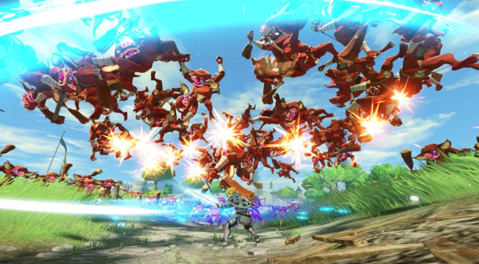 Hyrule Warriors Age Of Calamity Gets New Screenshots Showing Off Playable Characters More
