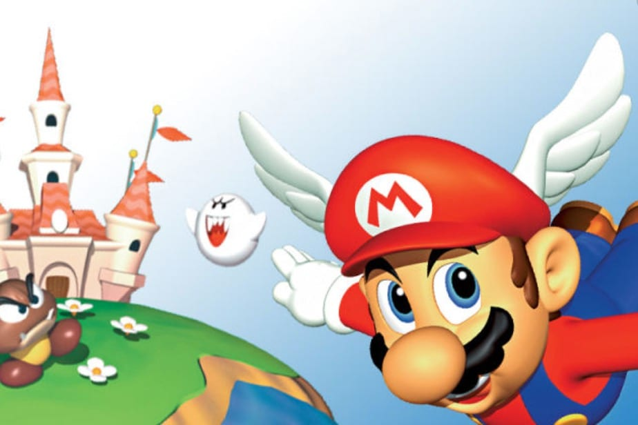 how to save super mario 64