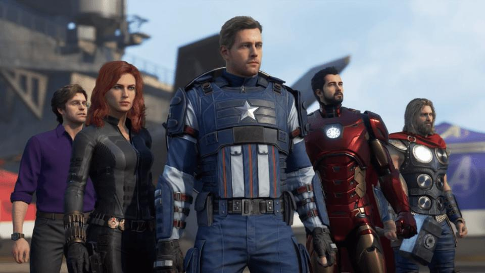 avengers game level up