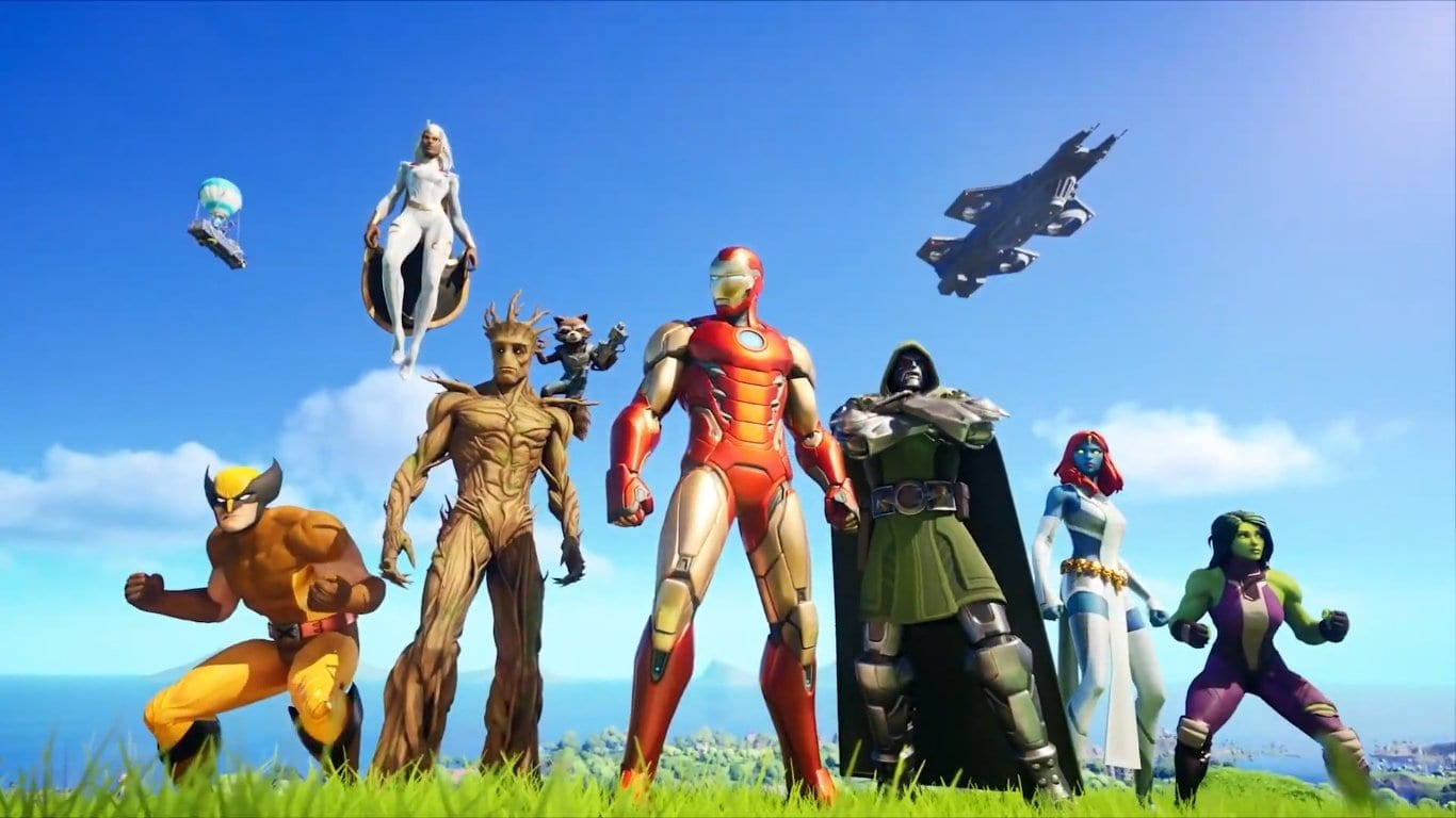 Fortnite Wolverine Week 2 Where To Find Loading Screen At Quinjet Patrol Site