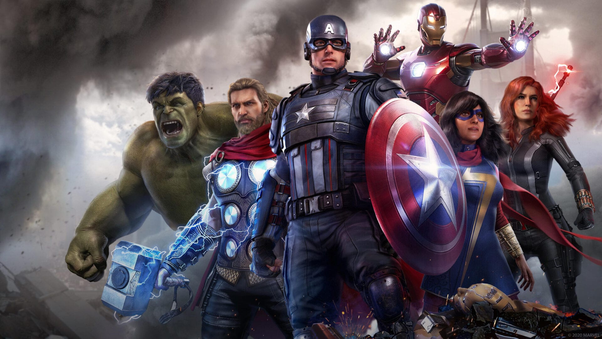 marvel's avengers, Spider-Man avengers