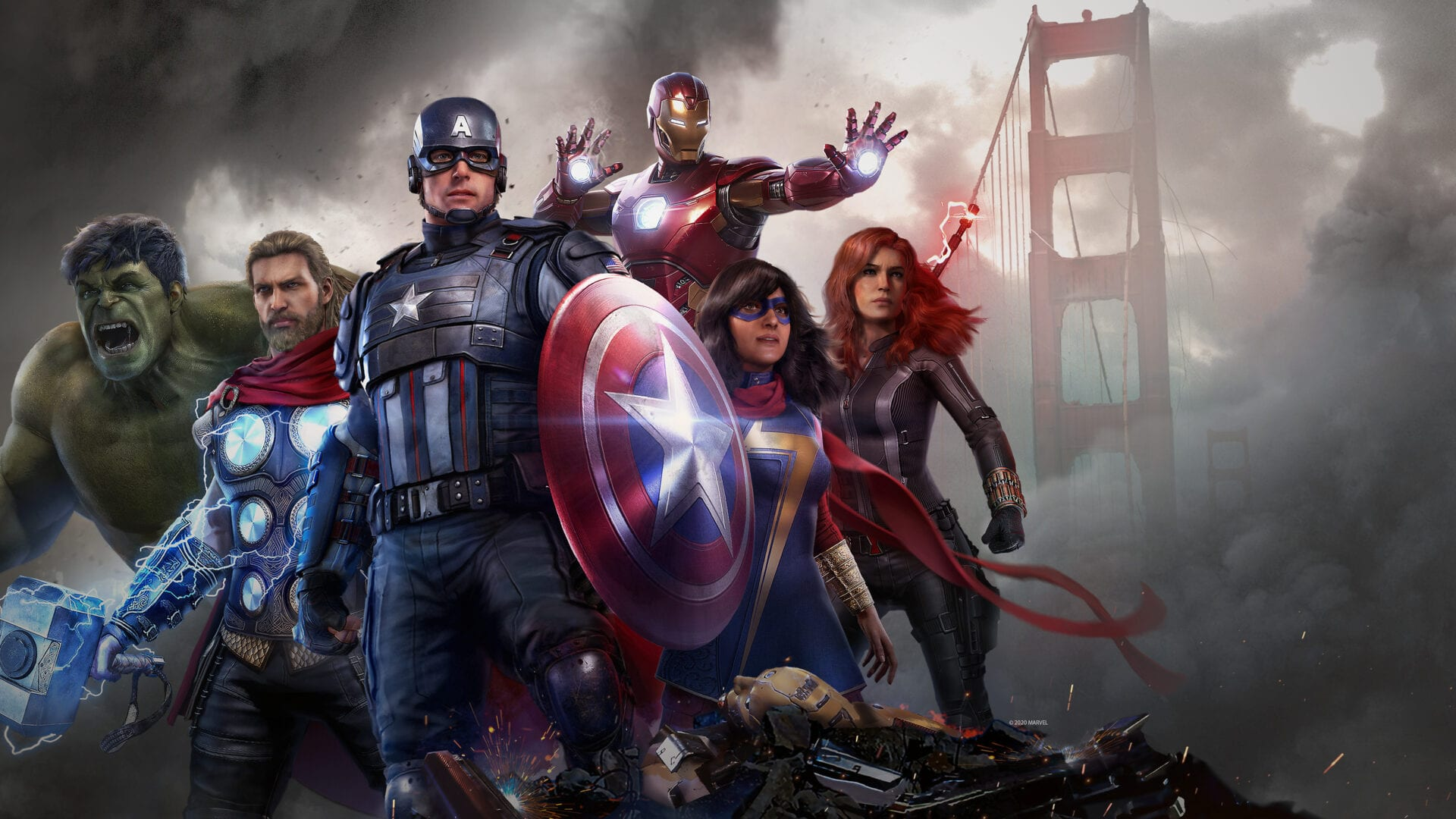 marvel's avengers, playable characters