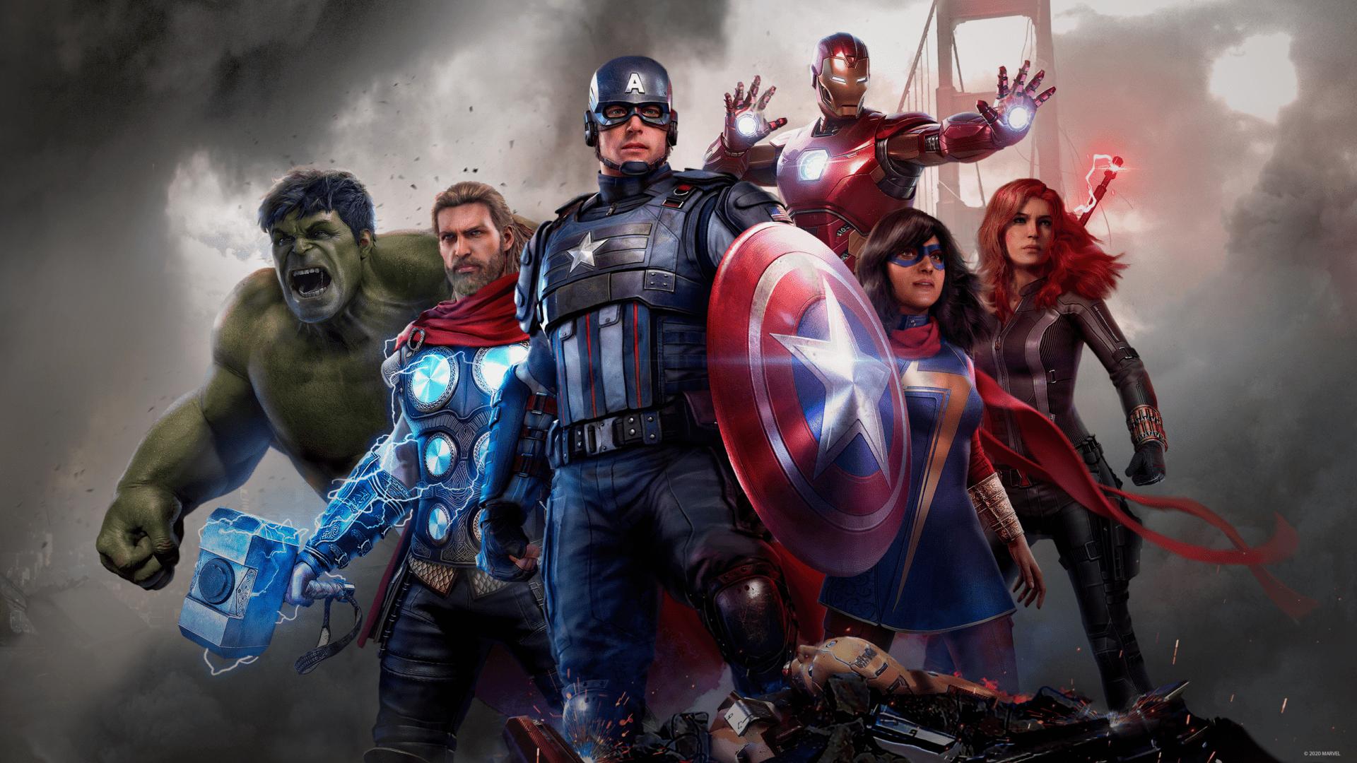marvel's avengers, install size