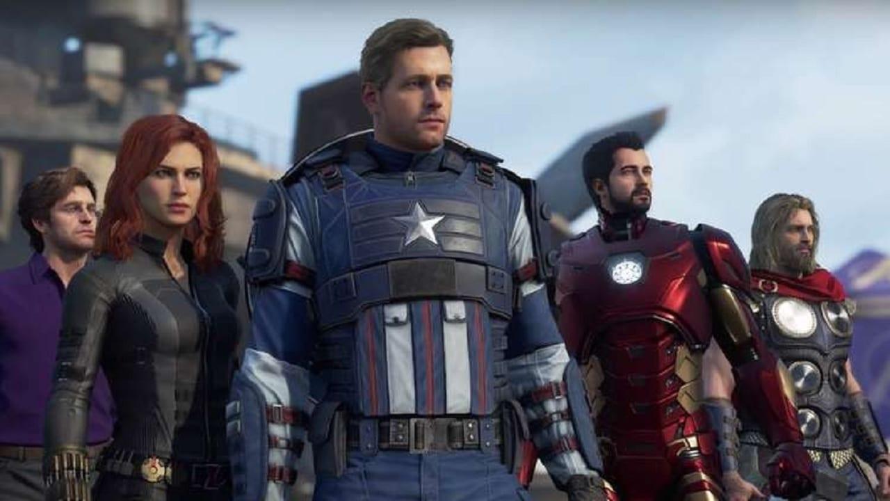 Marvel's Avengers grab hulk