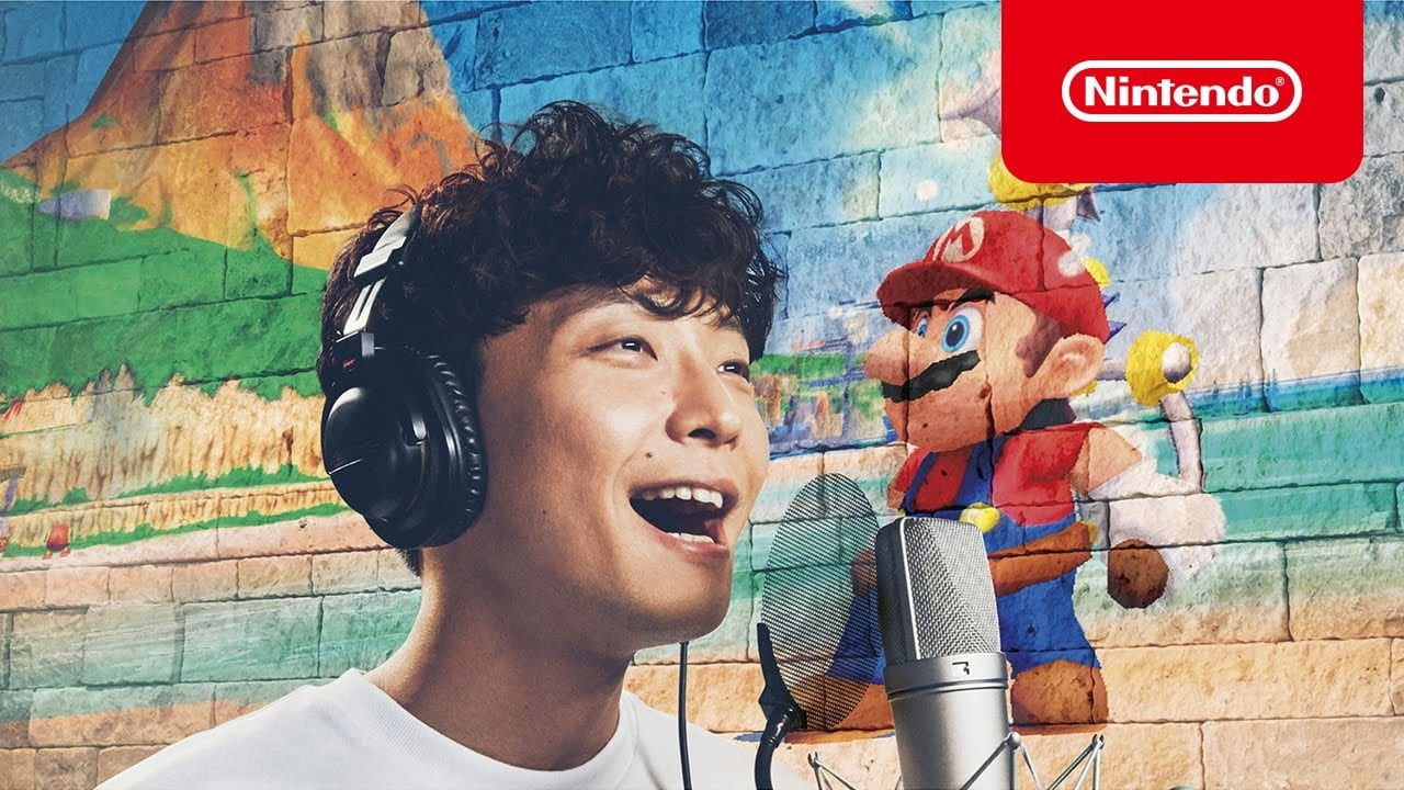 nintendo switch, japanese, super mario 3d all-stars, commercials, ads, gen hoshino, super mario 3d all-stars