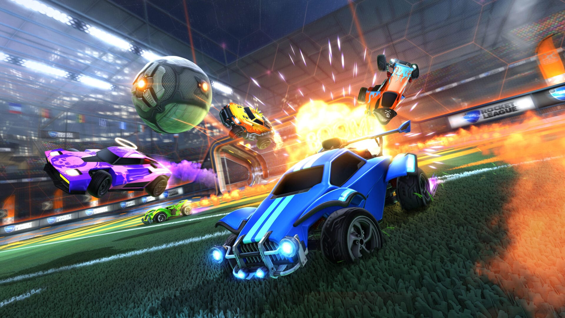rocket league fortnite llama-rama challenges