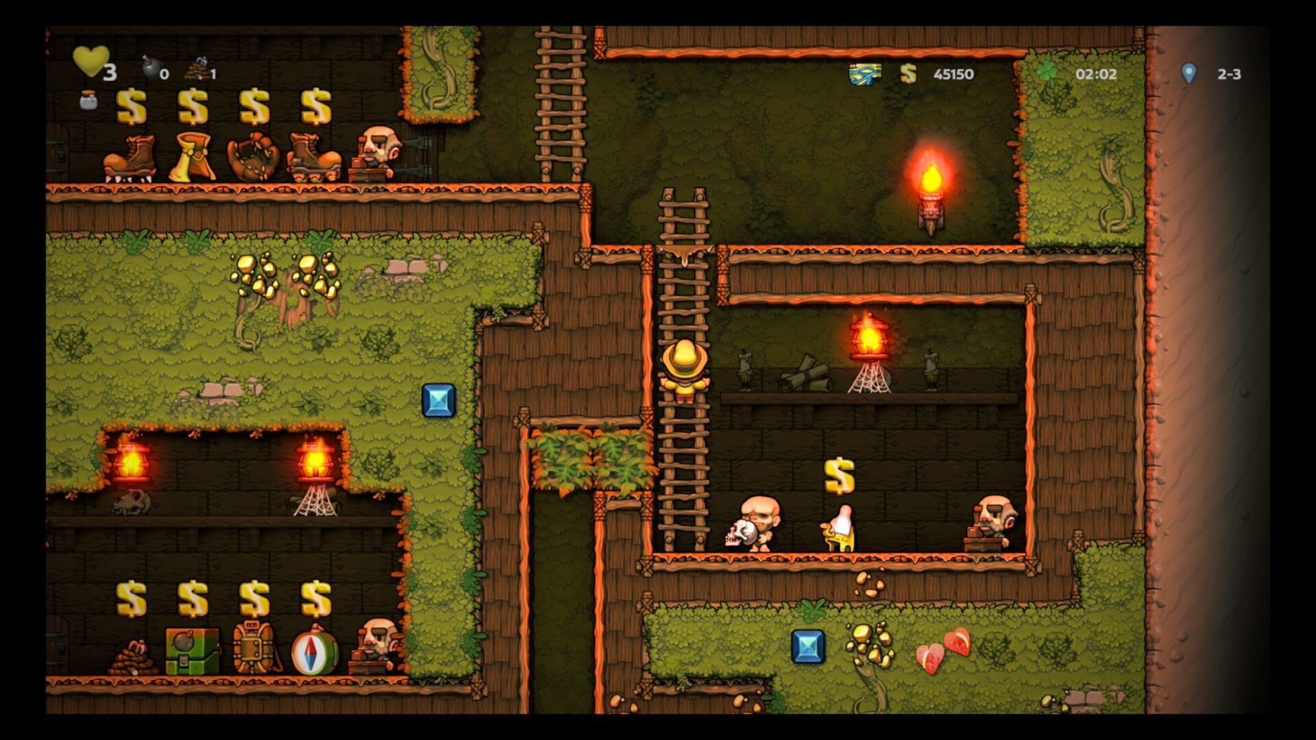 Spelunky 2, How to Find the Black Market