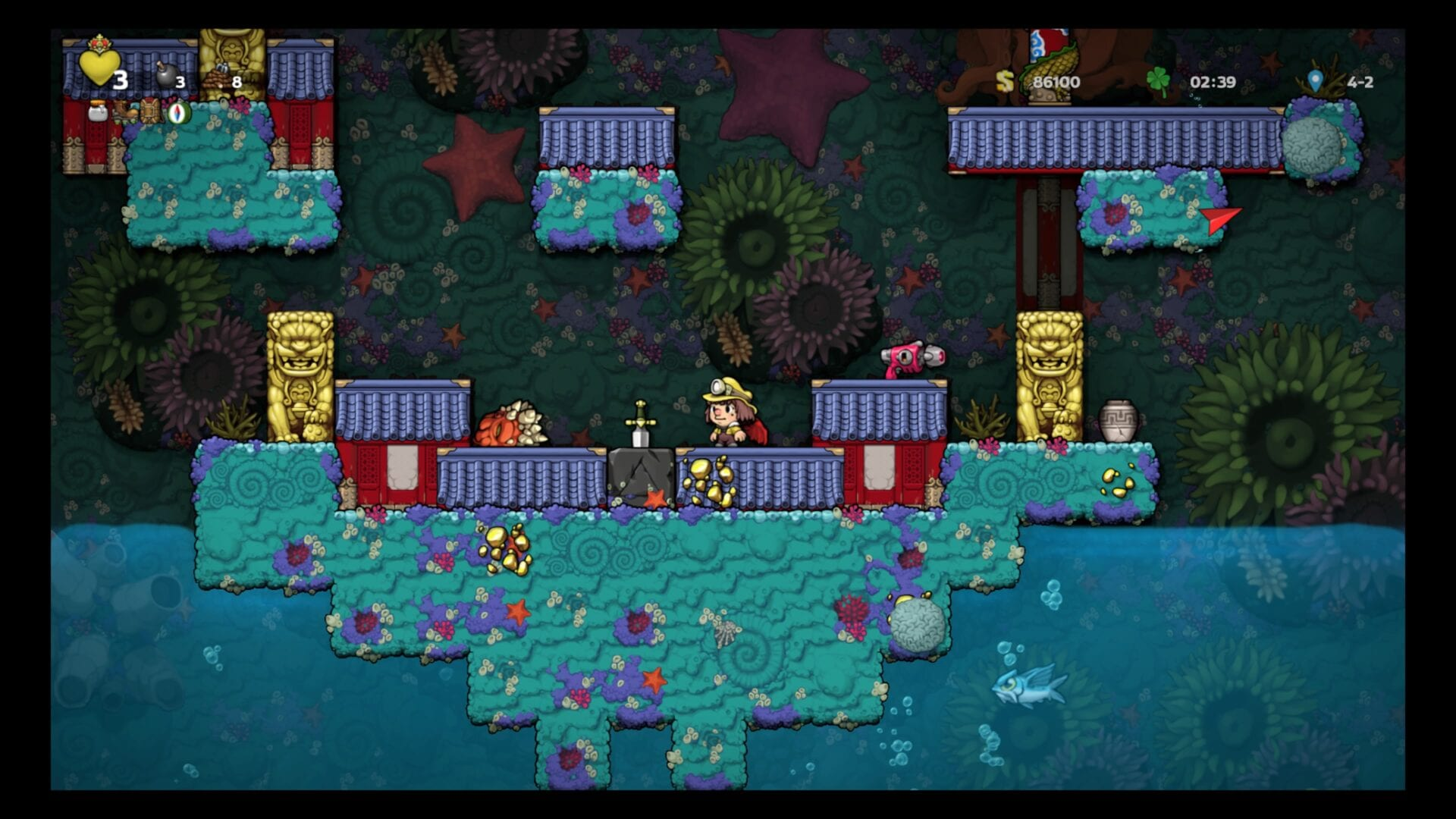 Spelunky 2, How to Get Excalibur and What it Does