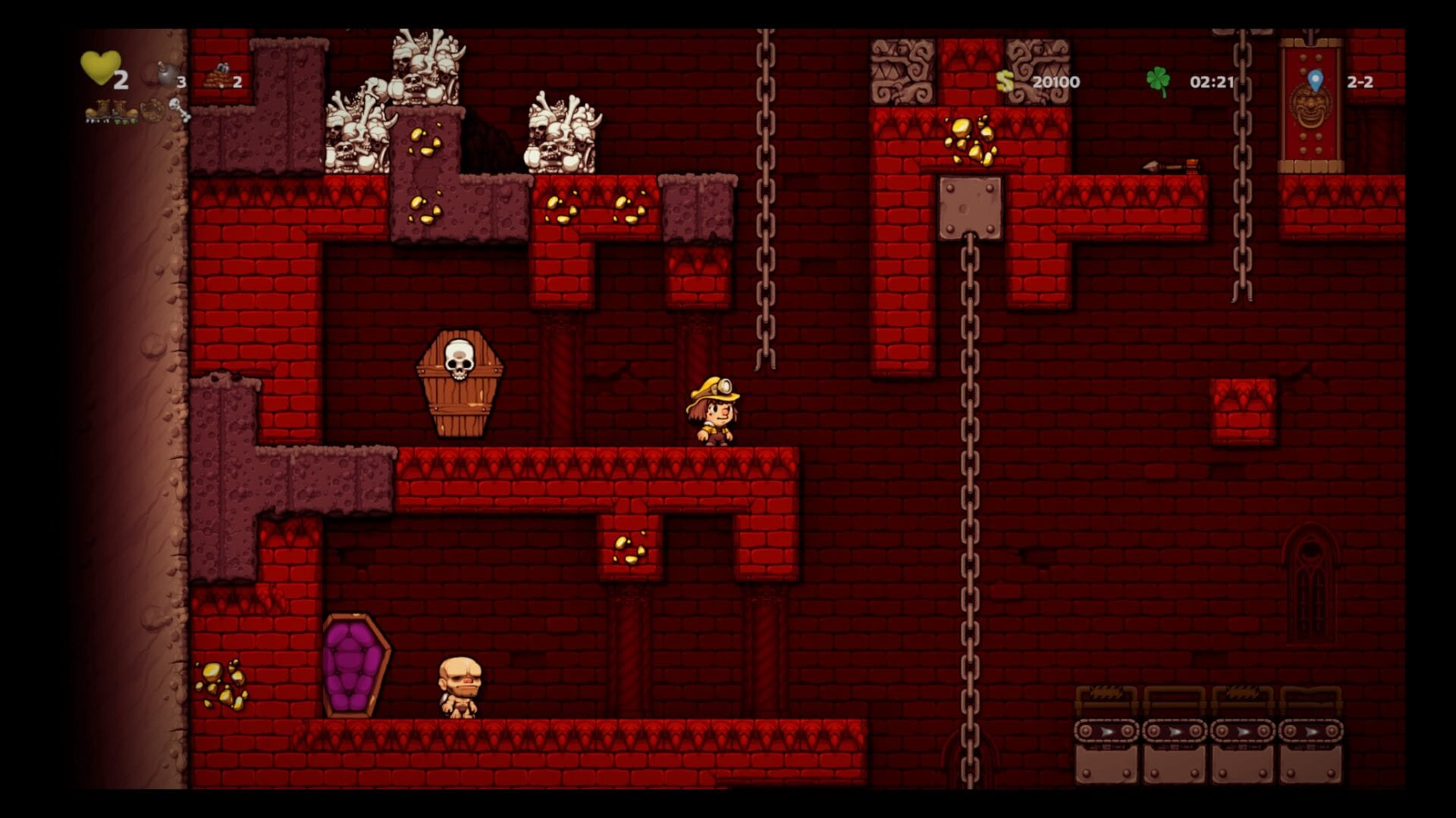 Spelunky 2, How to Reach Vampire Castle