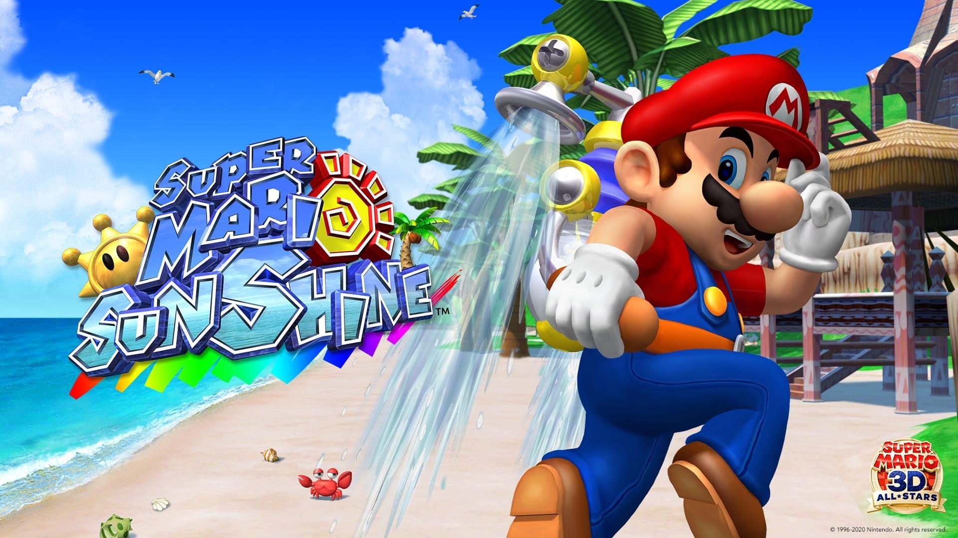 Super Mario Sunshine, How to Spray While Running