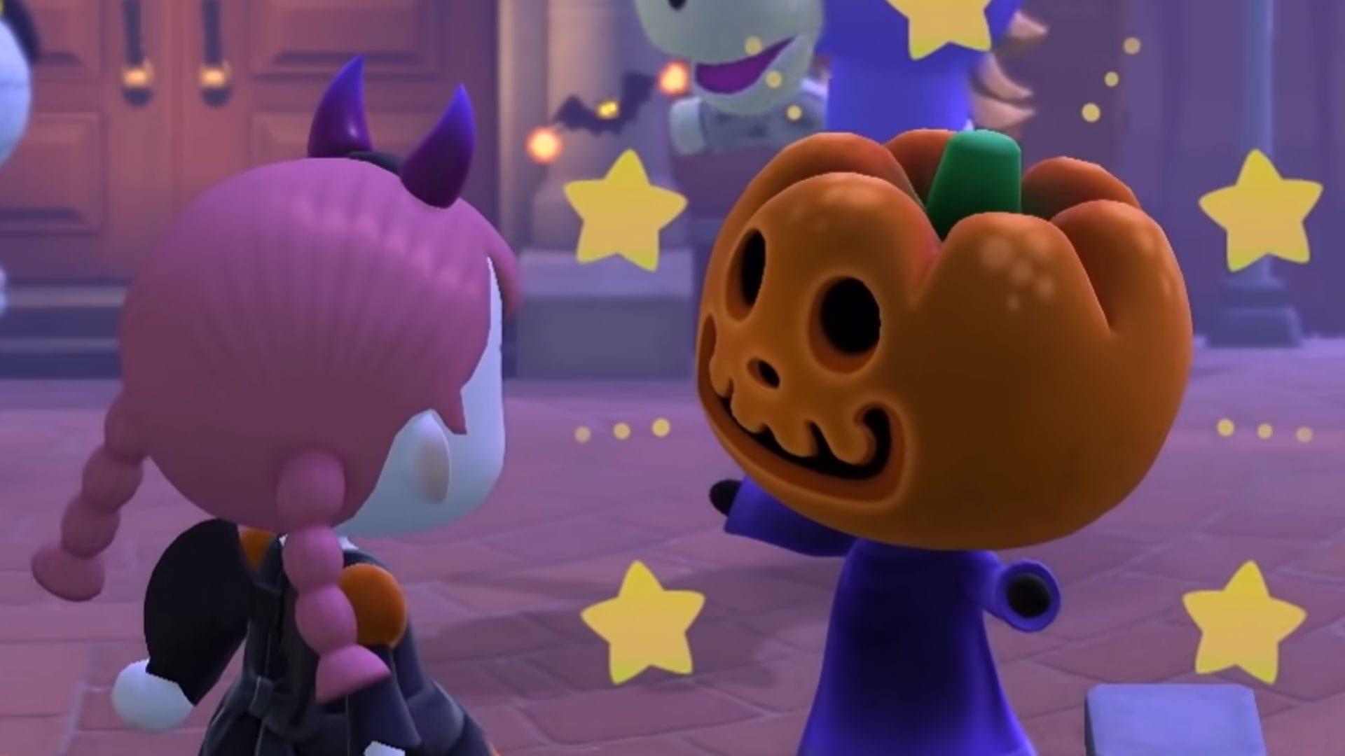 Animal Crossing Halloween designs