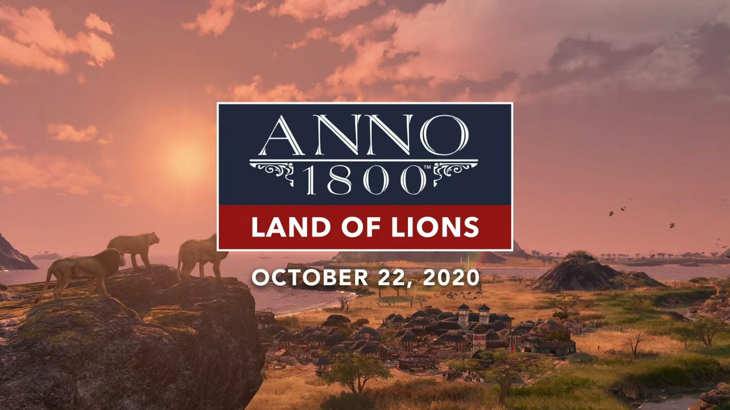 Anno 1800 Land of Lions