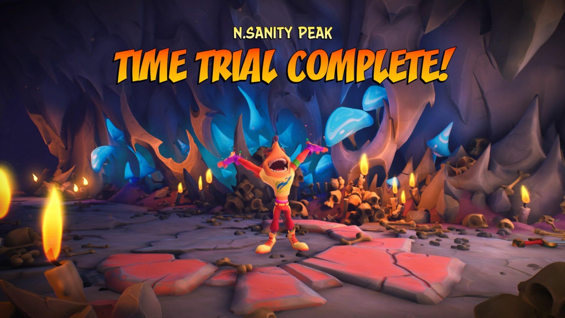 crash 4 time trials