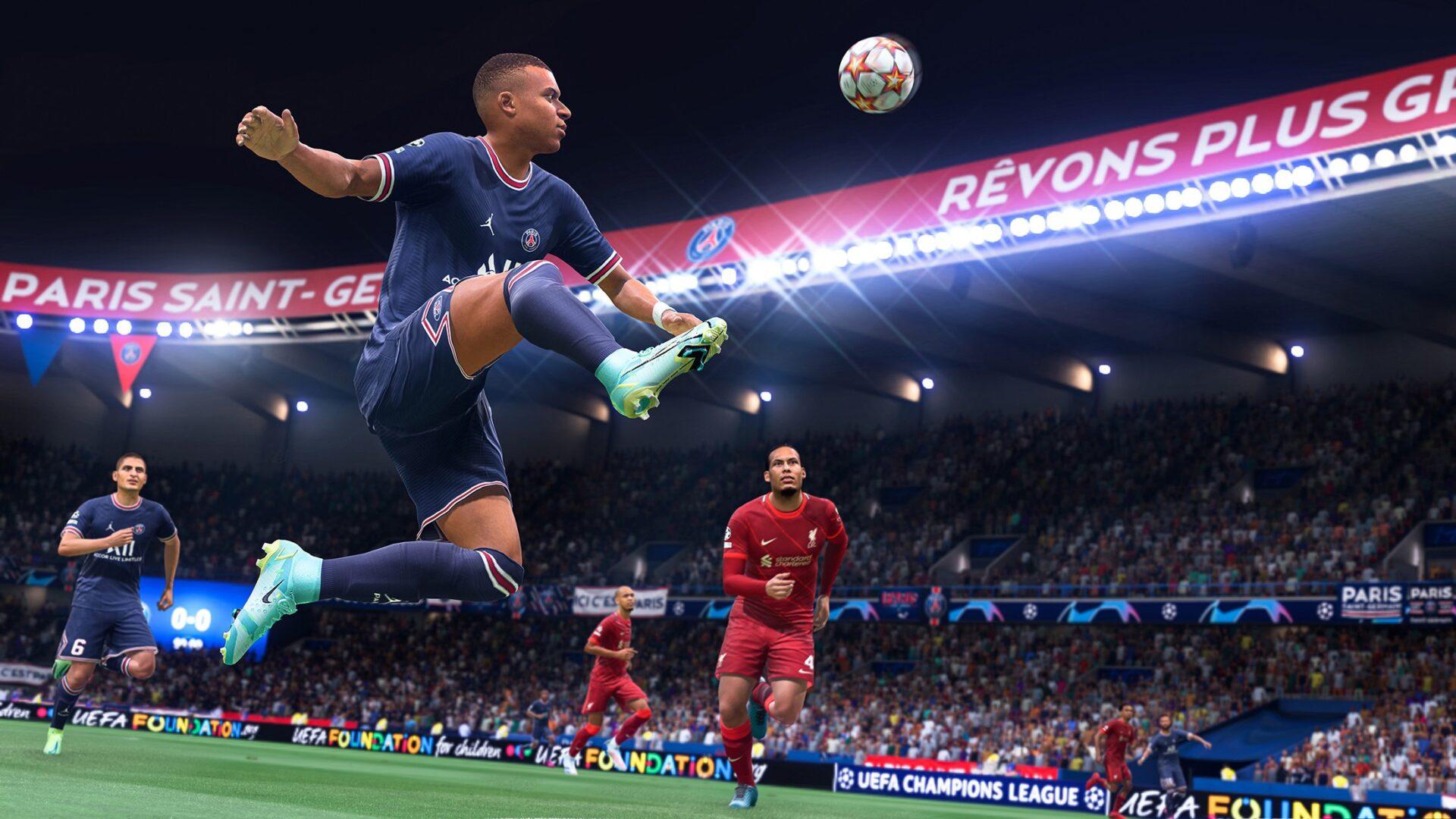 FIFA 22 threaded through pass