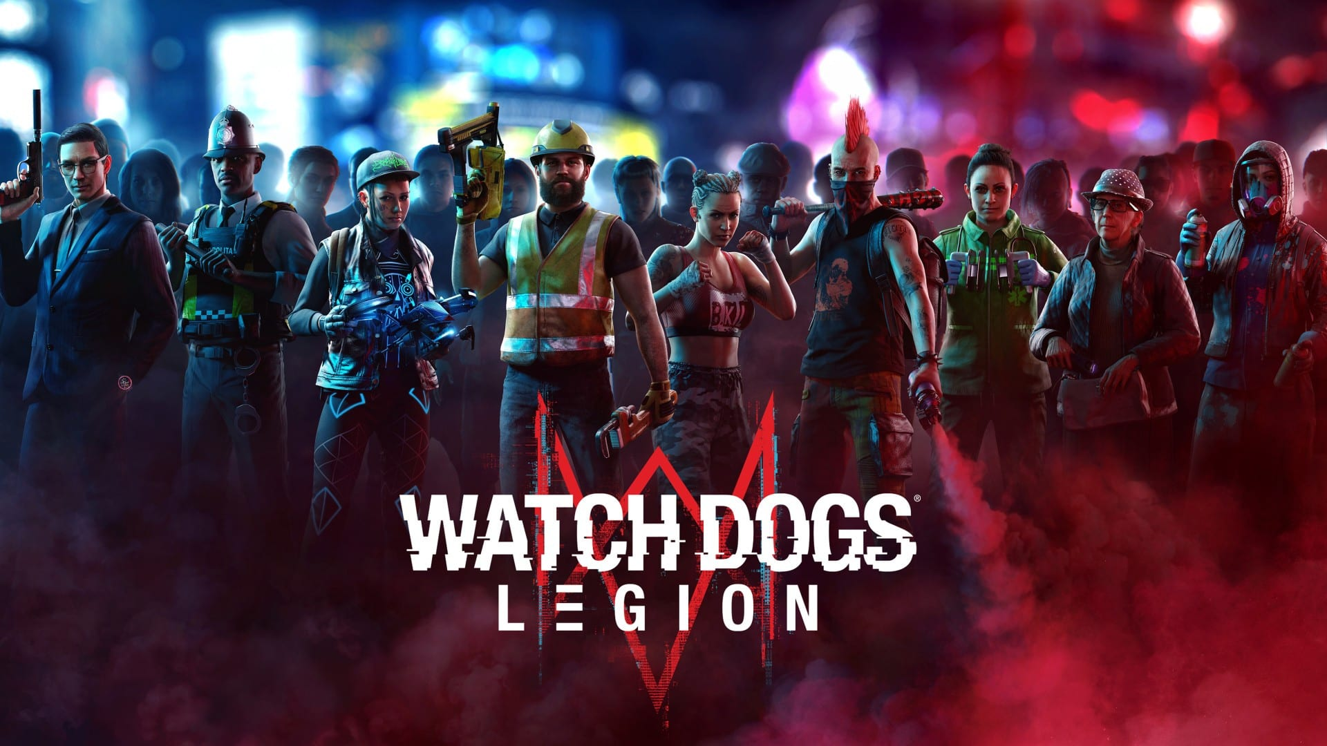 watch dogs legion, voice cast