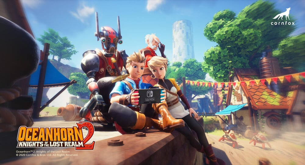 oceanhorn 2, knights of the lost realm