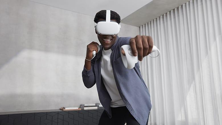 User of Oculus Quest