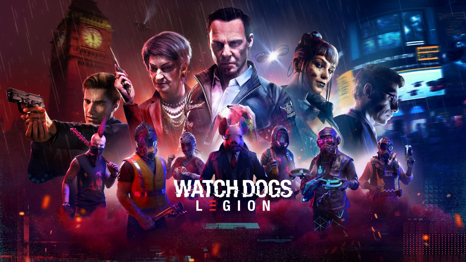 New Watch Dogs Legion Trailer Shows Characters With Funny Class