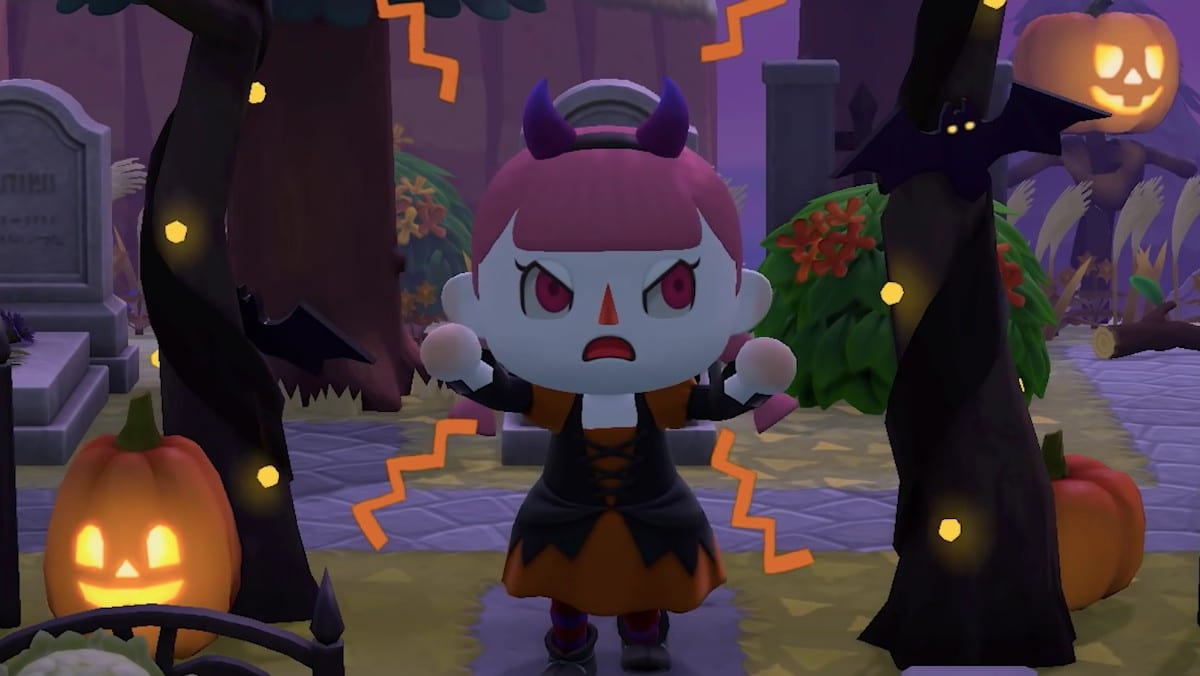 animal crossing new horizons, pumpkin carriage, spooky carriage