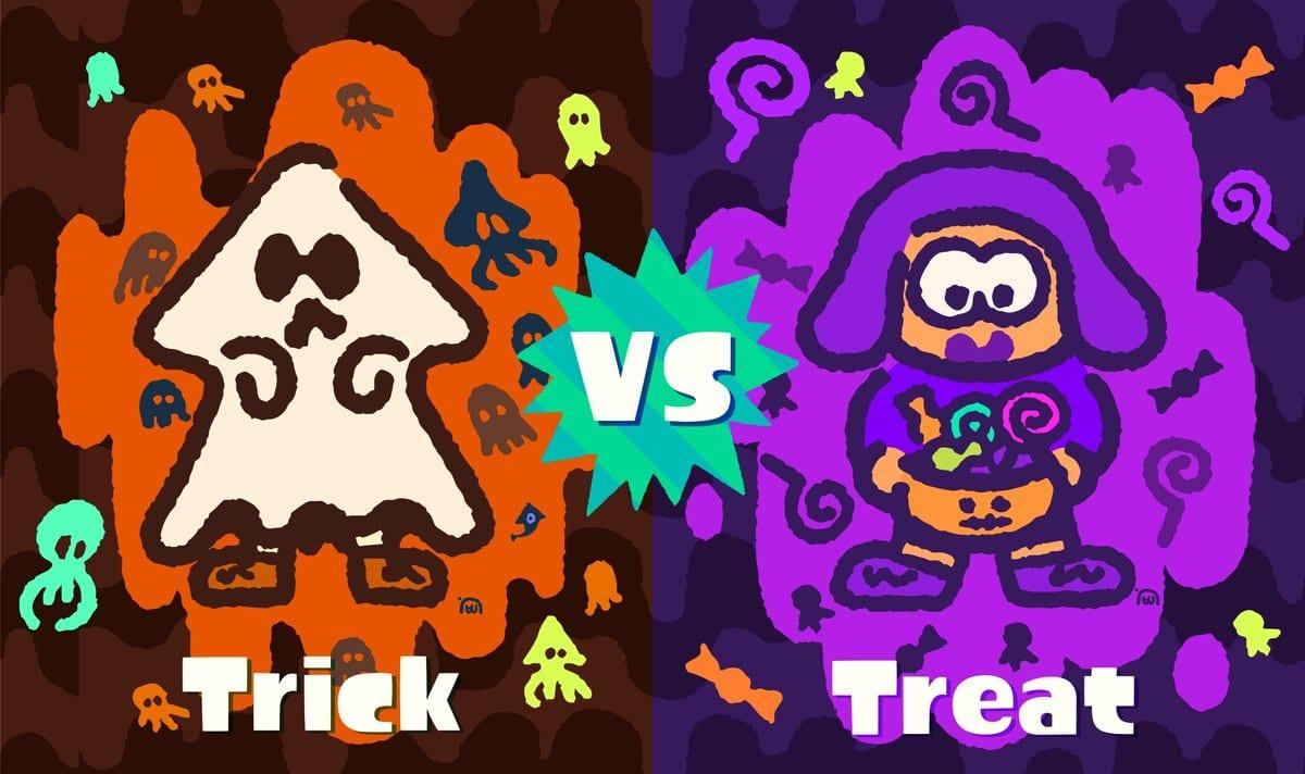 splatoon 2 splatfest trick or treat halloween